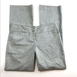 The Limited 8 Drew Fit Dress Pant Gray Bootcut